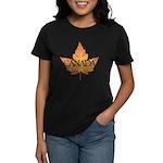 Canada Women's Dark T-Shirt Canada Souvenir Tees