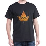 Canada Dark T-Shirt Canada Souvenir T-shirts