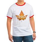Canada Ringer T-shirt Canada Souvenir T-shirt