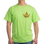 Canada Green T-Shirt Canada Souvenir T-shirts
