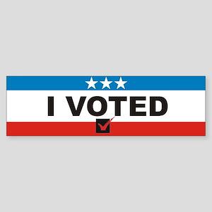 I Voted Bumper Sticker (10 pk)