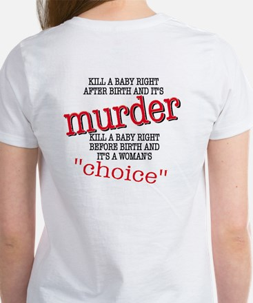 Kill a Baby Women's T-Shirt