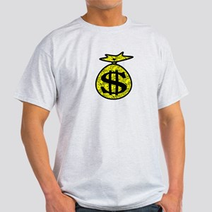 Cash Bag fill yelowblk Light T-Shirt