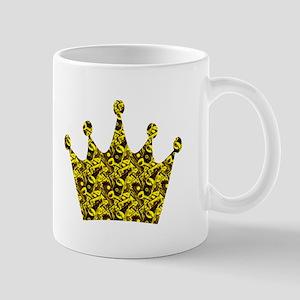 Crown VI goldblk Mug
