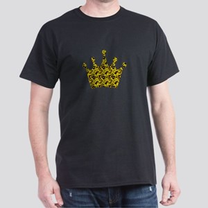 Crown VI goldblk Dark T-Shirt