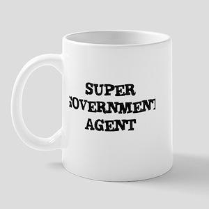 SUPER GOVERNMENT AGENT  Mug
