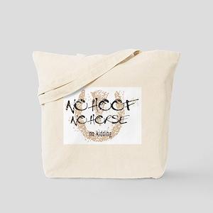 No hoof, No horse Tote Bag