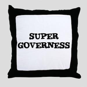 SUPER GOVERNESS  Throw Pillow