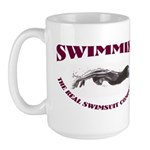 The Real Swimsuit Competition Large Mug