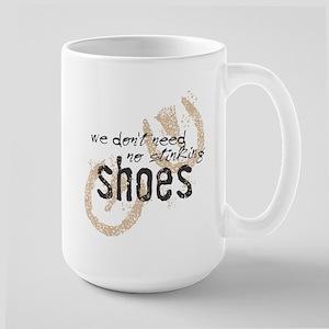 Stinking Shoes Large Mug