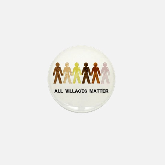 Riyah-Li Designs All Villages Matter Mini Button