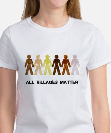 Riyah-Li Designs All Villages Matter Women's T-Shi