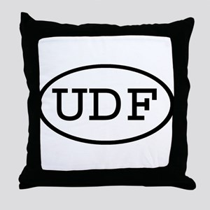 UDF Oval Throw Pillow