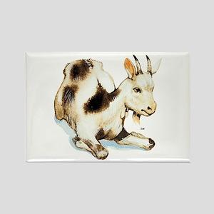 Goat Rectangle Magnet