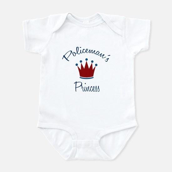 Policeman's Princess Baby Infant Bodysuit