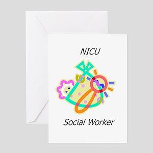 NICU Social Worker Greeting Card