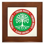 Italian Roots Framed Tile