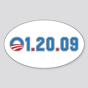 Presidential Inauguration Oval Sticker