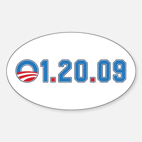 Presidential Inauguration Oval Decal