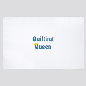 Colorful Quilting Queen 4' x 6' Rug