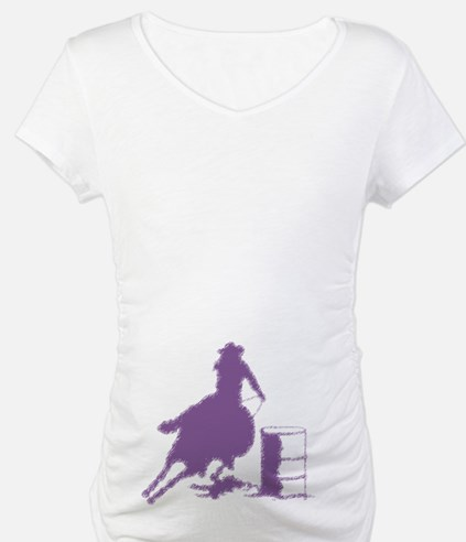Purple Barrel Racer Female Rider Shirt