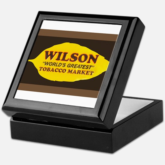 Wilson Tobacco Keepsake Box
