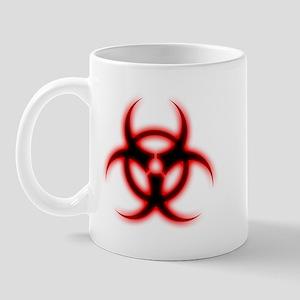 Glowing biohazard Mug