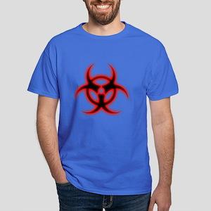 Glowing biohazard Dark T-Shirt