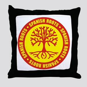 Spanish Roots Throw Pillow