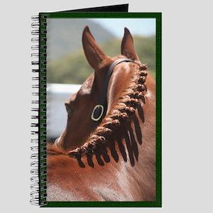 Braided English Horse Journal