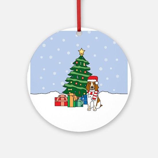 Welsh Springer Christmas Ornament (Round)
