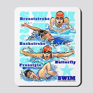 Swim Star (G) Mousepad