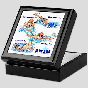 Swimming Star 2 (G) Keepsake Box