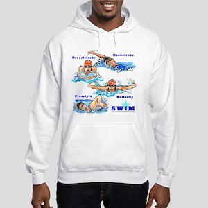 Swimming Star 2 (G) Hooded Sweatshirt