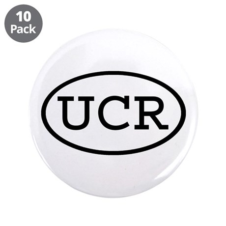 "UCR Oval 3.5"" Button (10 pack)"
