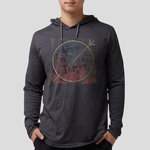 bullseye bulls-eye archery arc Long Sleeve T-Shirt