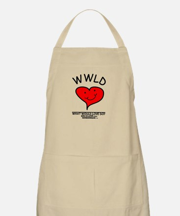 WHAT WOULD LOVE DO? BBQ Apron