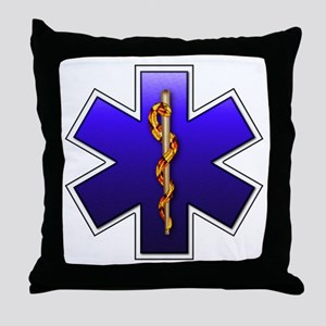 Star of Life(EMS) Throw Pillow