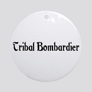Tribal Bombardier Ornament (Round)