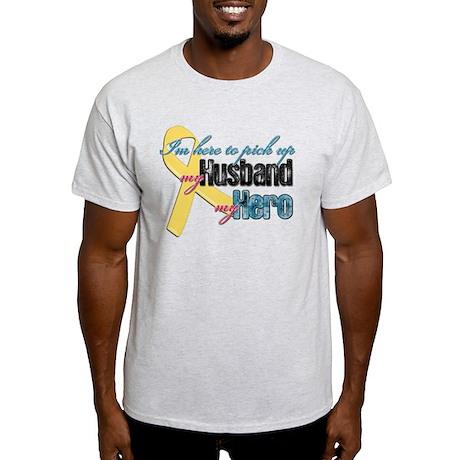 I'm Here to Pick up My Husban Light T-Shirt
