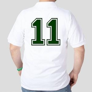NUMBER 11 FRONT Golf Shirt