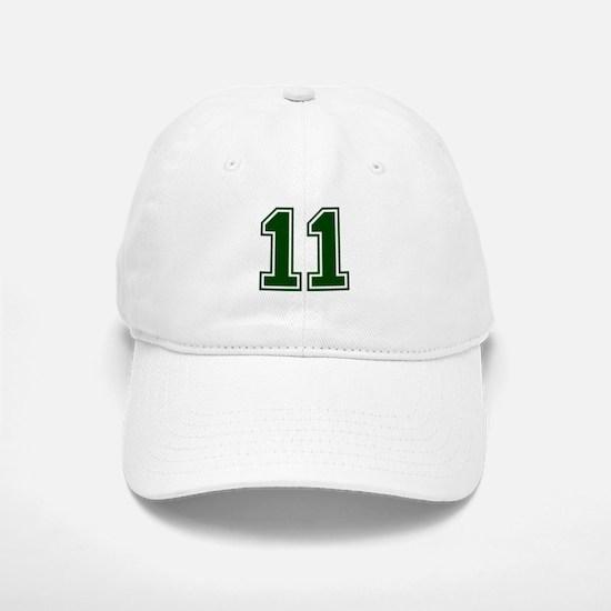 NUMBER 11 FRONT Baseball Baseball Cap