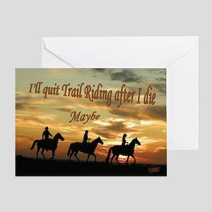 After I die Greeting Card