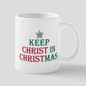 Keep Christ star 11 oz Ceramic Mug