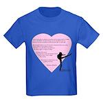 Dance is the only art... Kids Dark T-Shirt