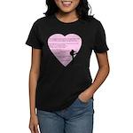 Dance is the only art... Women's Dark T-Shirt