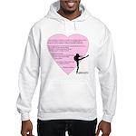 Dance is the only art... Hooded Sweatshirt