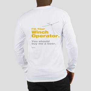 Winch - Beer Long Sleeve T-Shirt