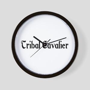 Tribal Cavalier Wall Clock