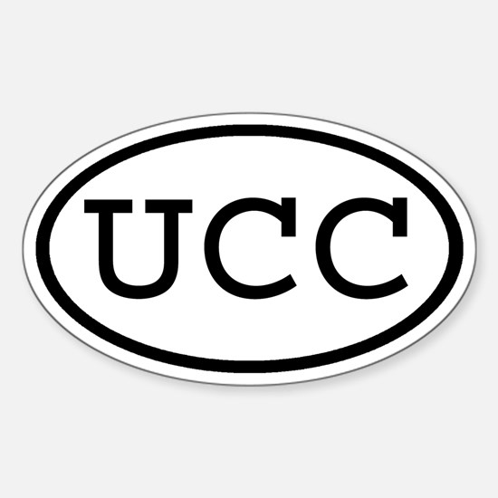 UCC Oval Oval Decal